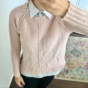 Ralph Lauren - pink sweater blouse